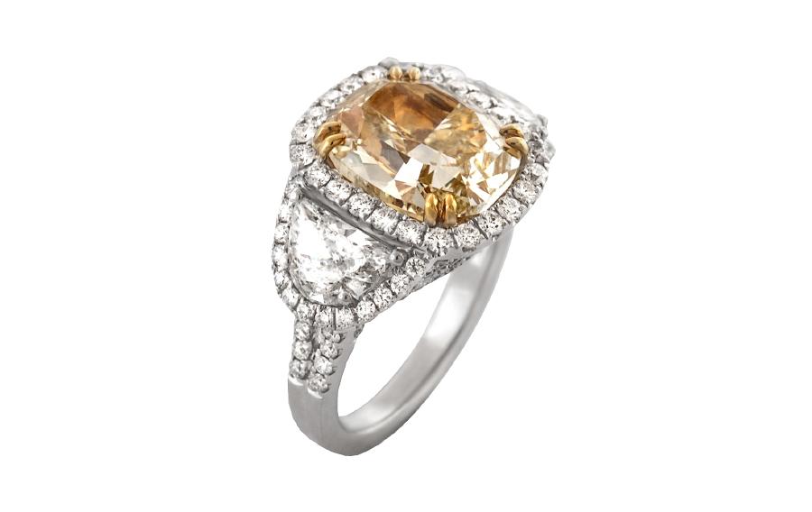 Yellow Diamond Rings