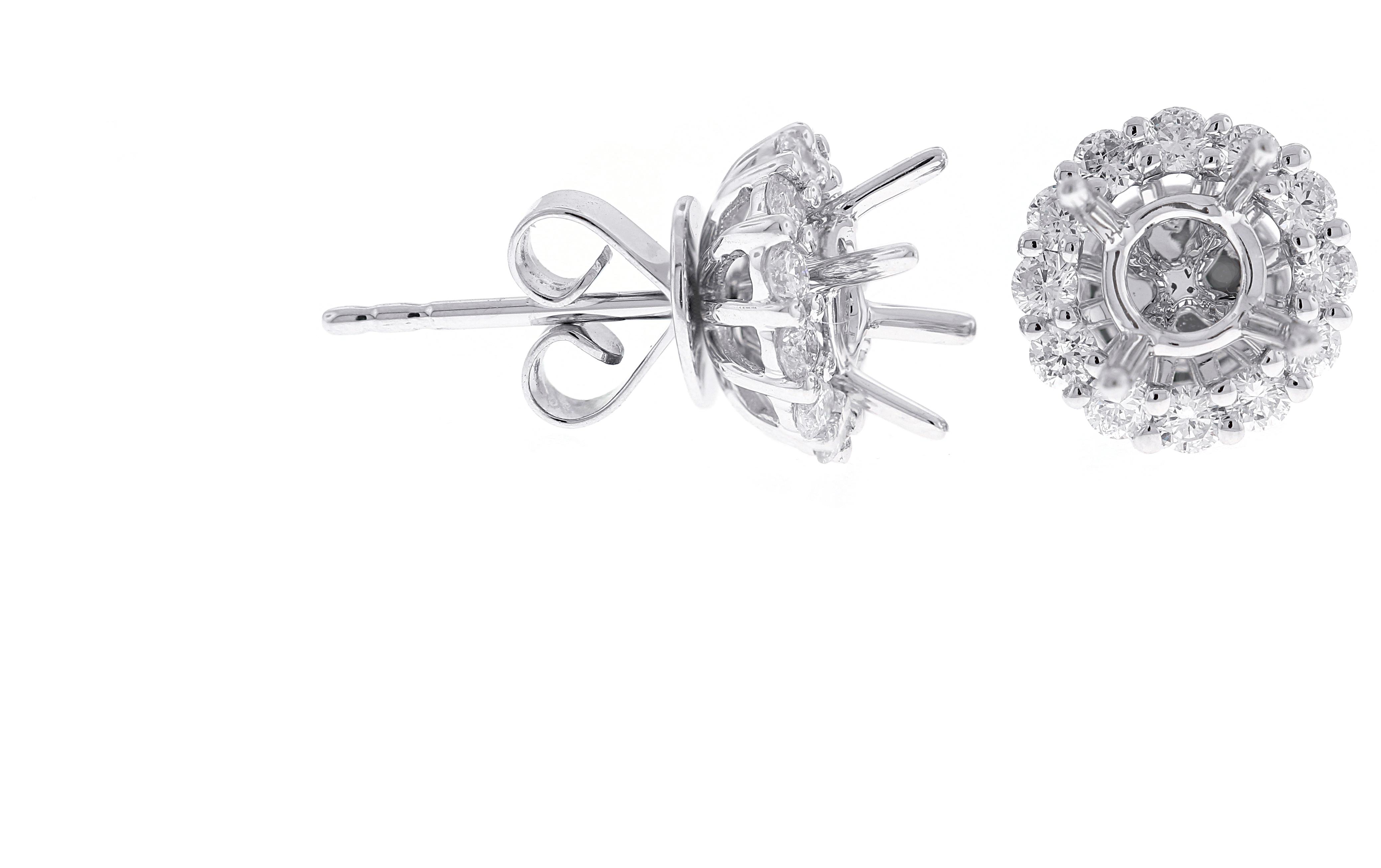 Diamond Jackets & Earring Remounts