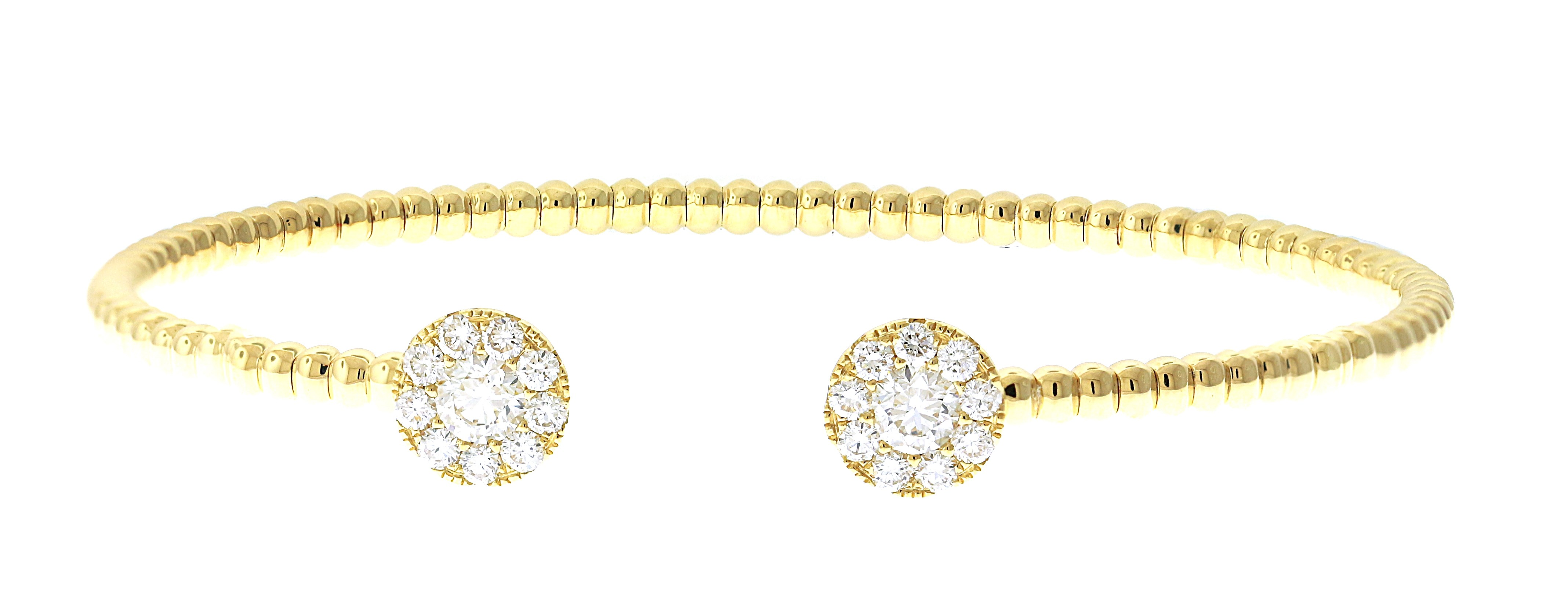 white in deco yellow bracelet diamond vintage bangles two img round gold tone bangle art