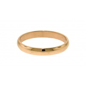 14kt Rose Gold Wedding Band