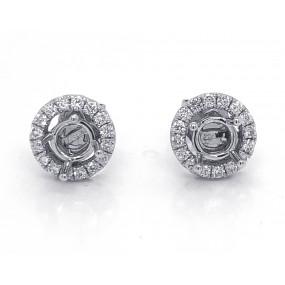 18kt White Gold Diamond Jackets