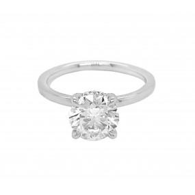 18kt White Gold Certified Diamond Ring
